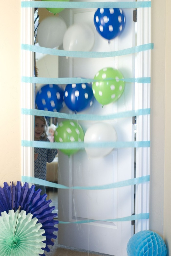 Surprise Birthday Balloon Door