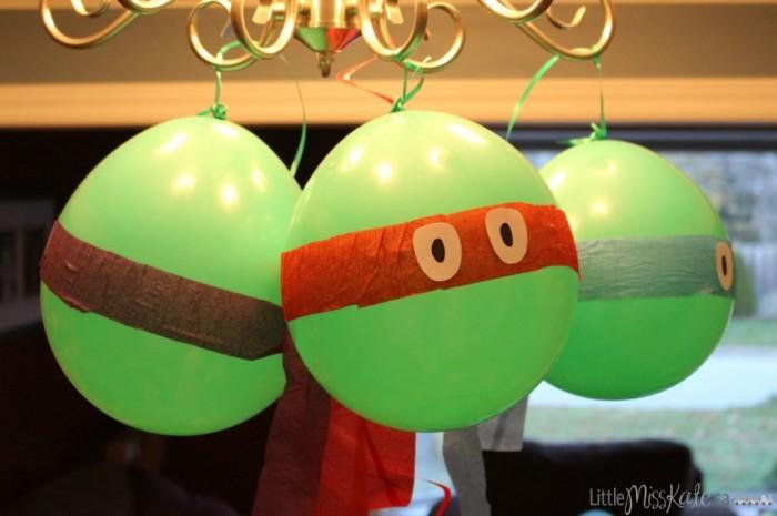 Teenage Mutant Ninja Balloons