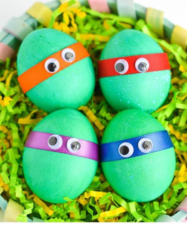 Teenage Mutant Ninja Turtles Easter eggs