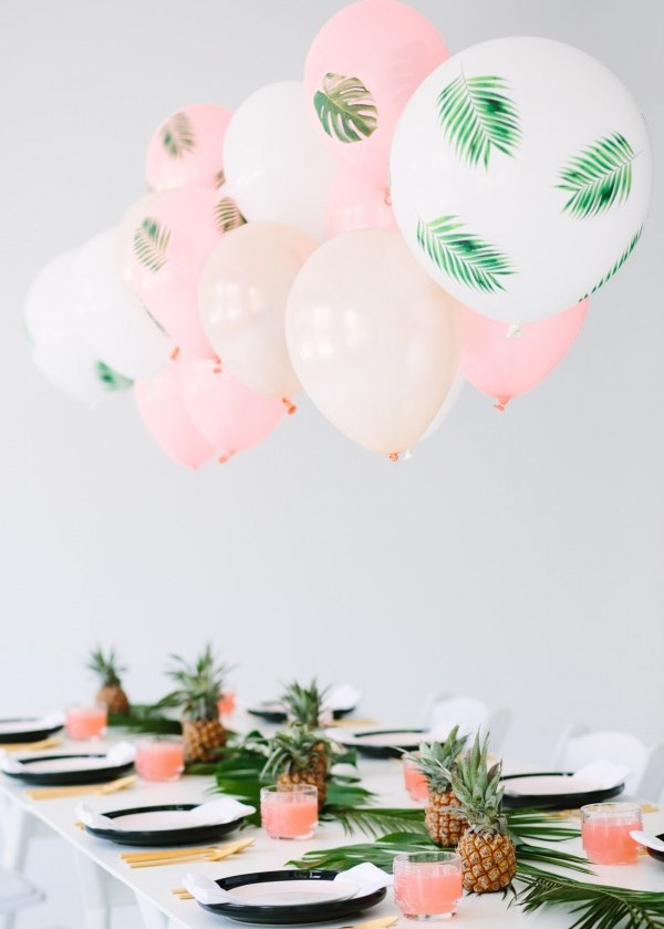 Tropical Party Balloons