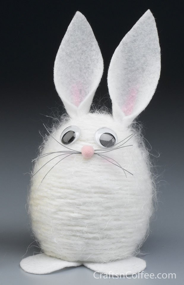 Yarn Easter Bunny