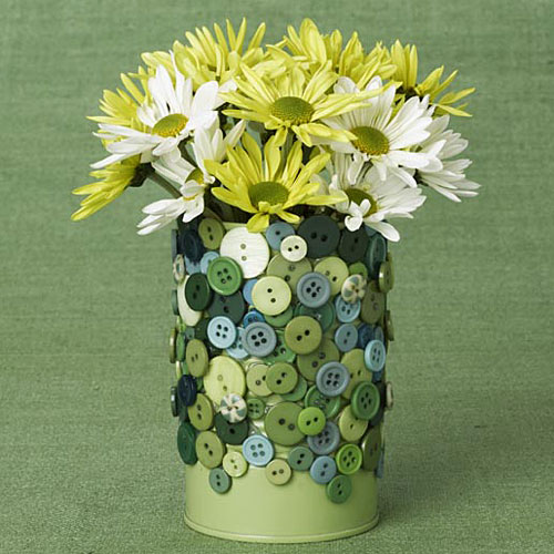Creative Tin Can Flower Vase