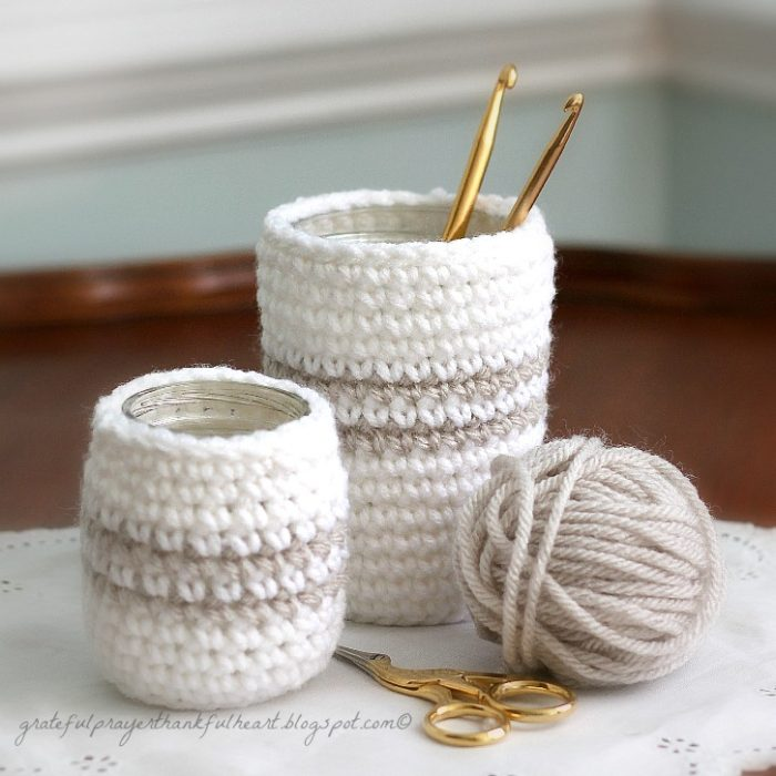 Crochet Cozy for Cans