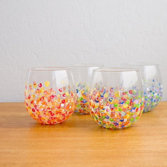 DIY Colorful Glasses