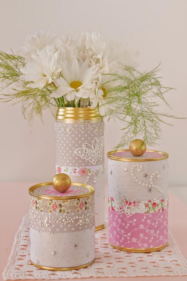 DIY Golden Tin Can
