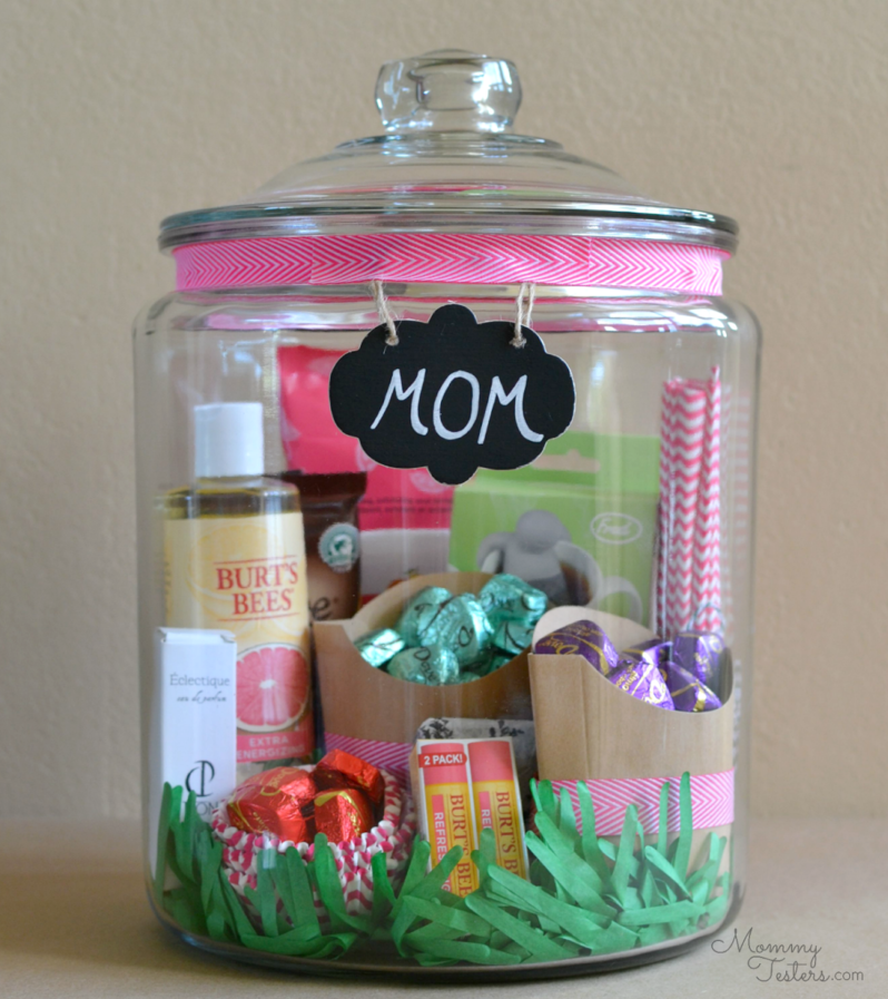 Goodies in a jar