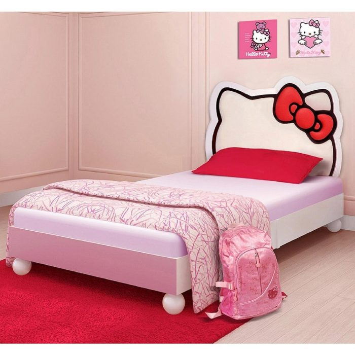 Hello Kitty Car Toddler Bed