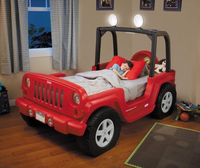 Jeep Wrangler Toddler Bed