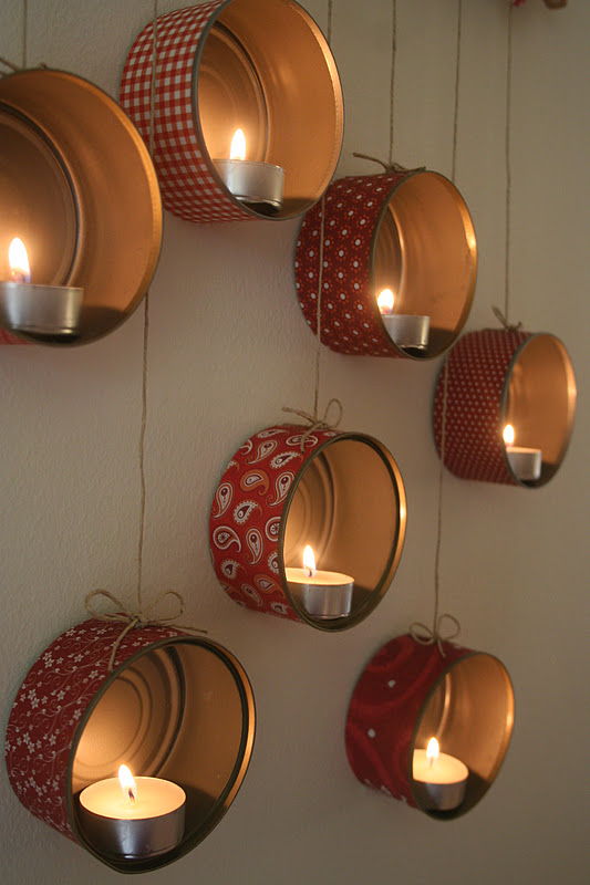 Lighting Tin Cans