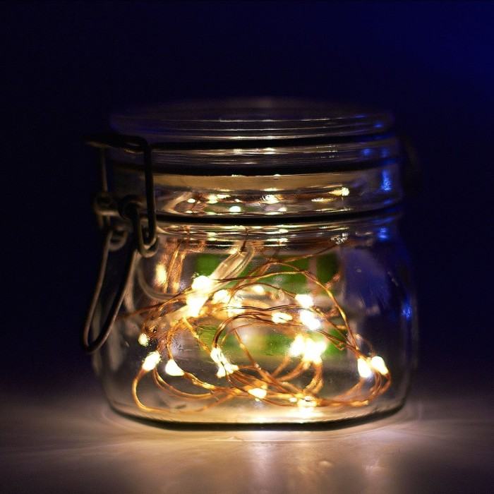 Mason Jar DIY Lamp