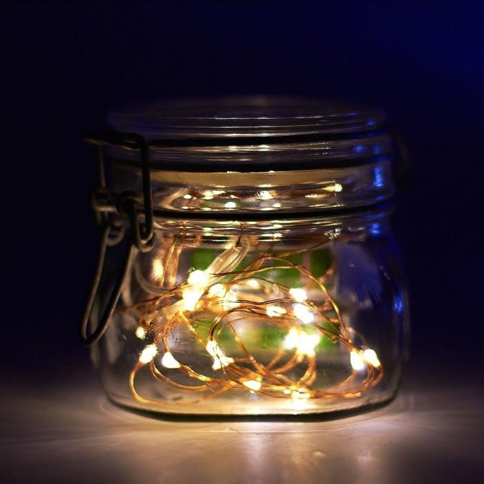 Mason Jar DIY Lamp