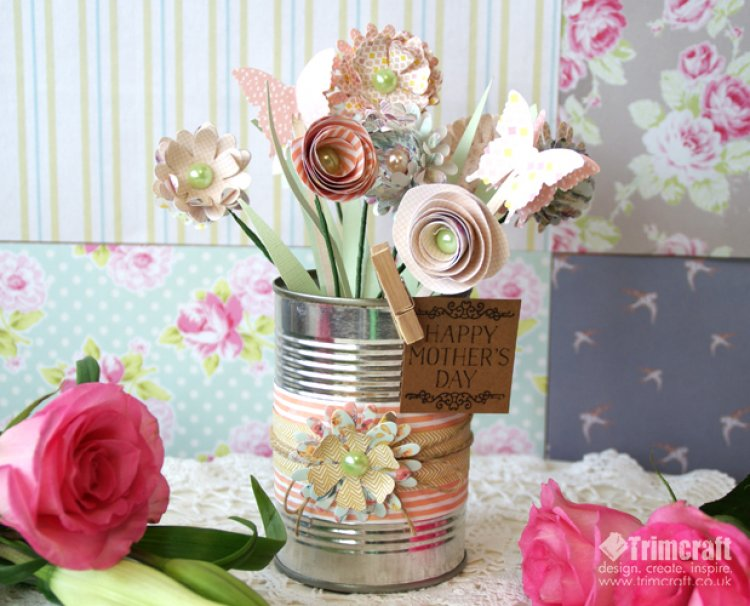 Mother's Day Flower Bouquet from Can