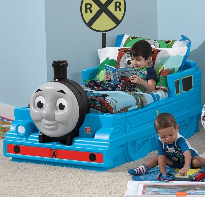 Tank Engine Toddler Bed