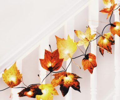 Autumn Leaf Fairy Lights