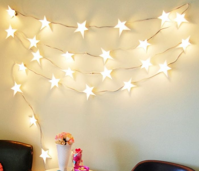 Electric Star String Lights : 22 Way to Customize String Lights for Different Occasions Home Designing