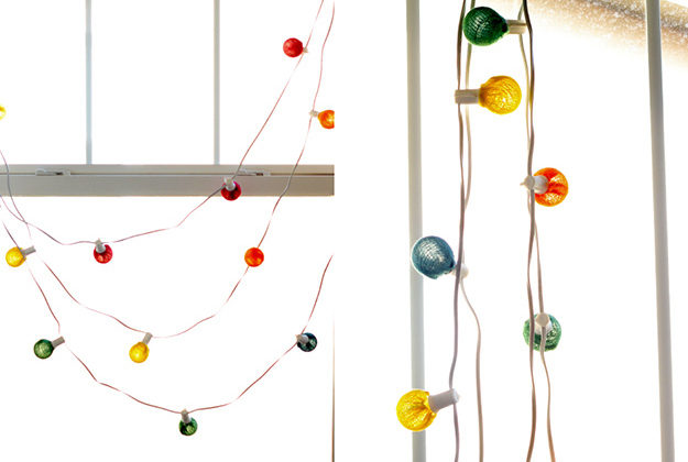 Colorful Globe String Lights
