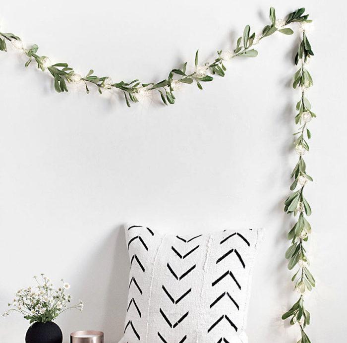 DIY String Light Garland