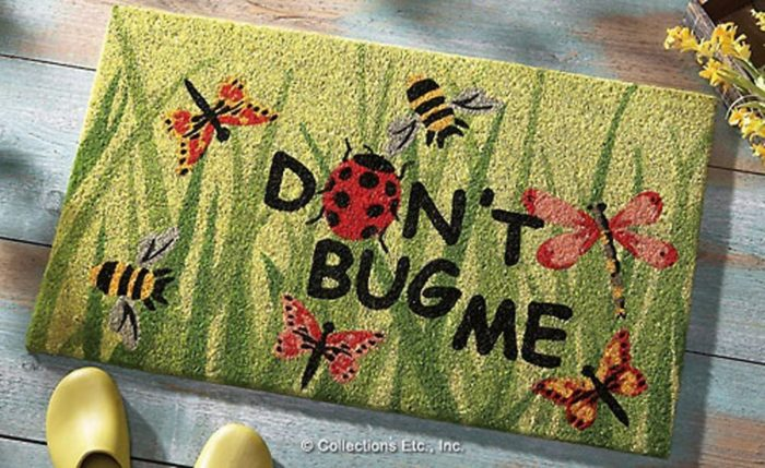 Don T Bug Me Welcome Door Mat