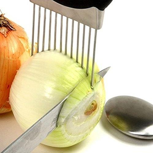 Easy Onion Holder Slicer