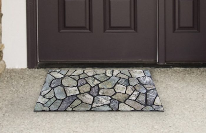 Flagstone Grey Stone Door Mat