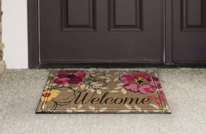 Floral Paradise Door Mat
