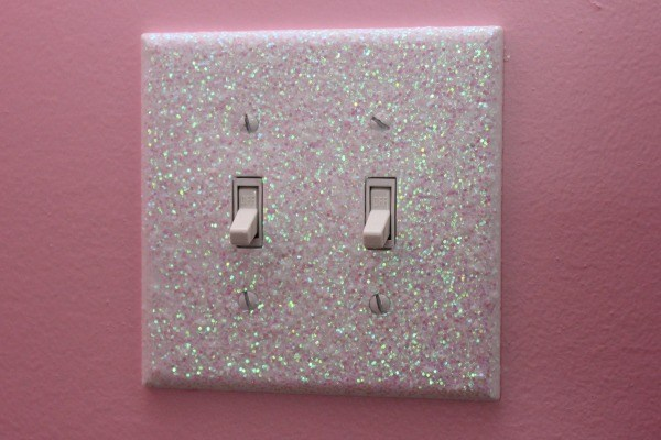 Glitter Light Switch Plates and Outlet Covers