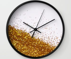 24 ways to add Glitter to your Home Decor