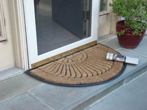 Half Round In-laid Doormat