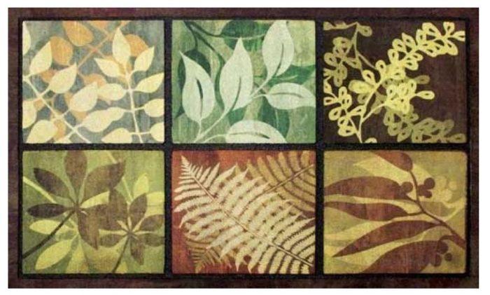 Leaves Door Mat