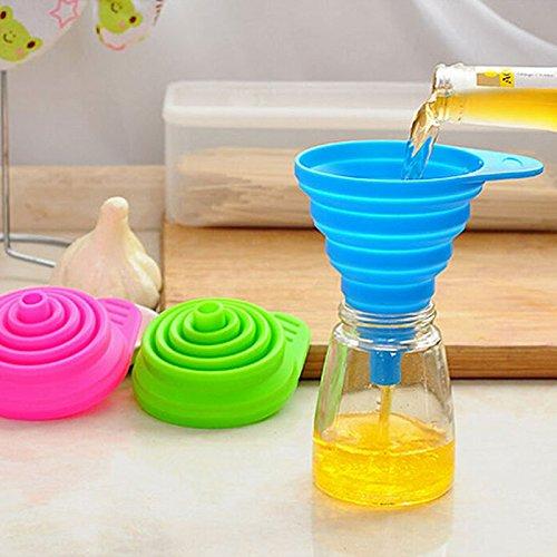 Plastic Silicone Funnels