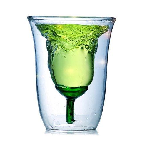Rose Transparent Glass