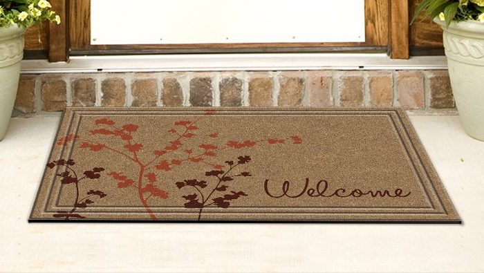 Simple Welcome Door Mat