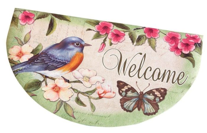 Spring Bird Accent Mat