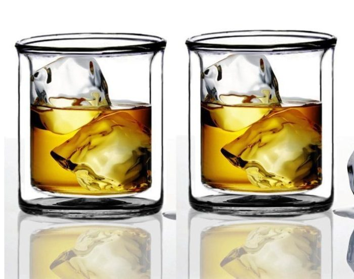 Strong Double Wall Manhattan Glasses