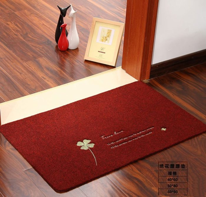 Thin Home Fabric Door Mat