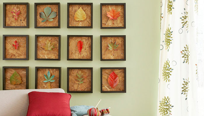 Fall Leaf Wall Art