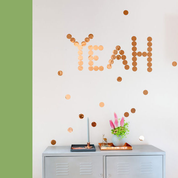 Giant Confetti Wall Decor