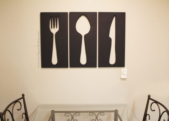 Giant Utensil Wall Art