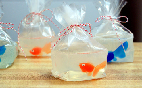 Goldfish in a Bag Soap