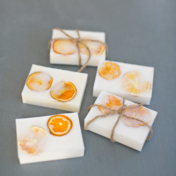 Handmade Milk Citrus Soap