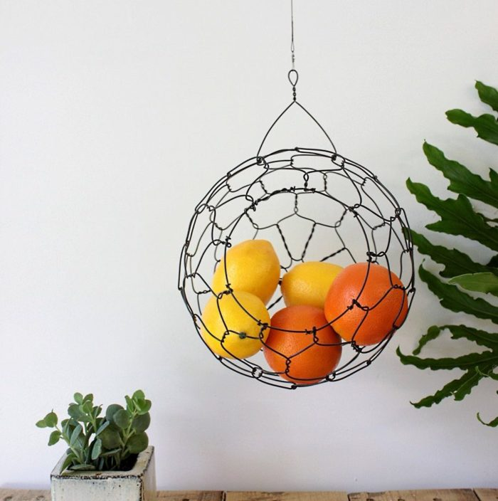 Hanging Sphere Basket