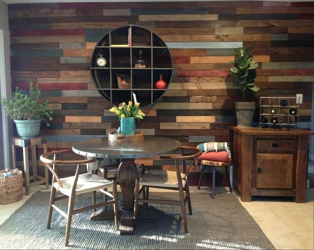 Home Decor Pallet Wall