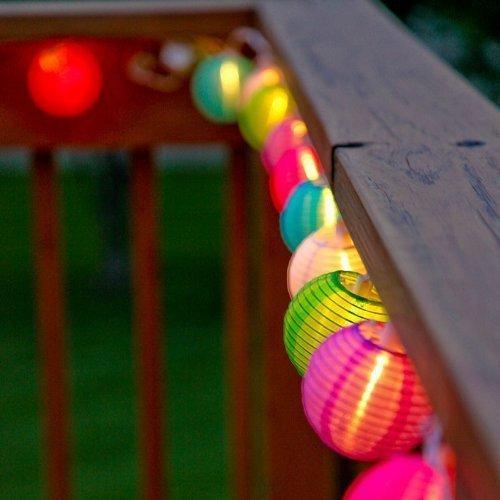 Lantern Ball String Lights