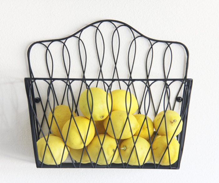Magazine Rack Fruit Basket