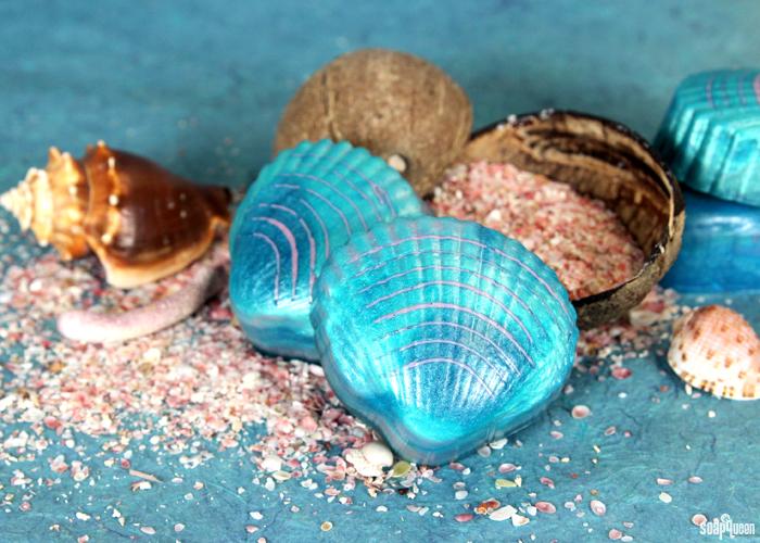 Mermaid Shell Soap