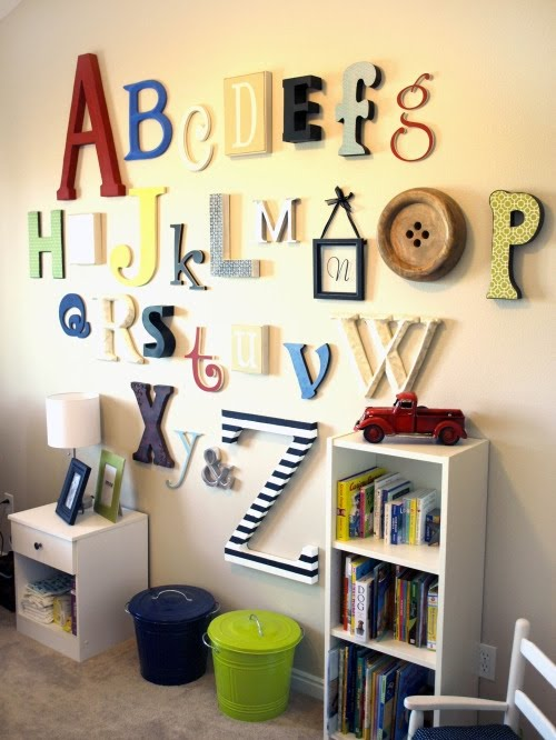 Nursery Wall ABCs