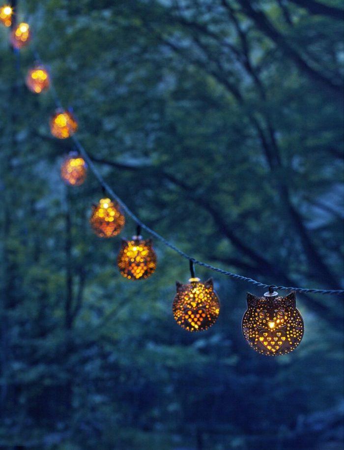 Owl String Lights