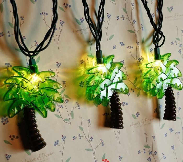 Solar String Lights For Palm Trees : Unique & Decorative String Light for Holidays Home Designing