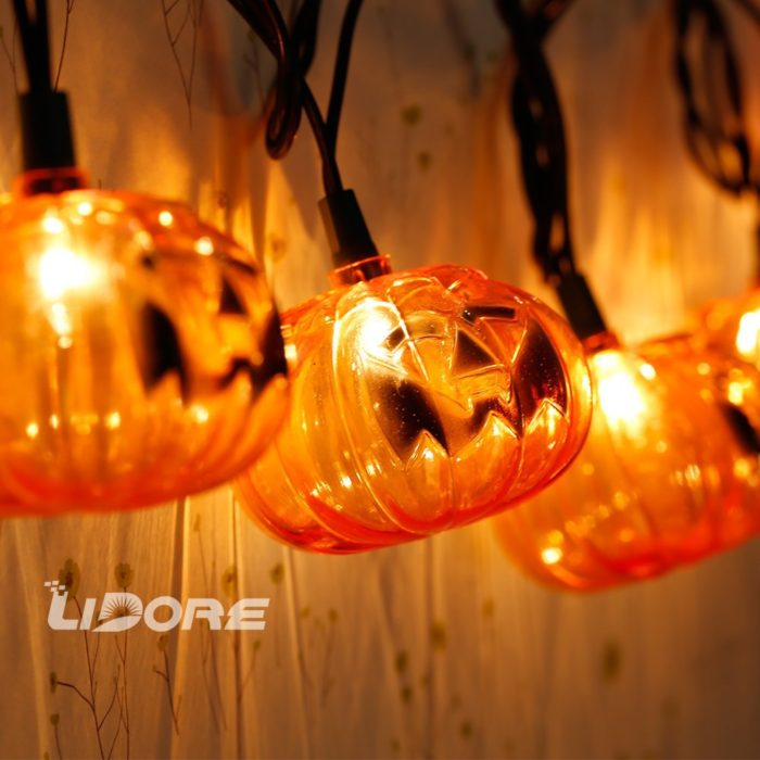 Pumpkin Decoration String Lights