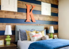 Reclaimed Plank Wood Wall